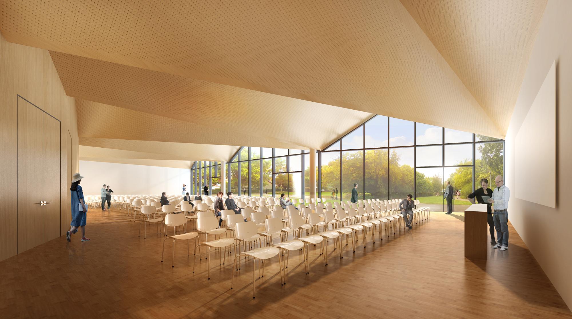 Die neue Filderhalle 1